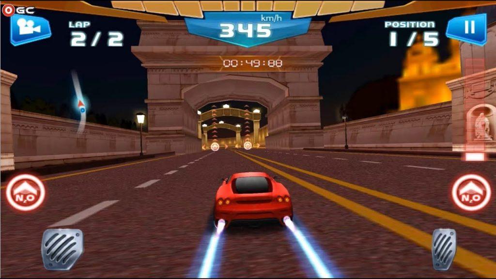 game ringan fast racing