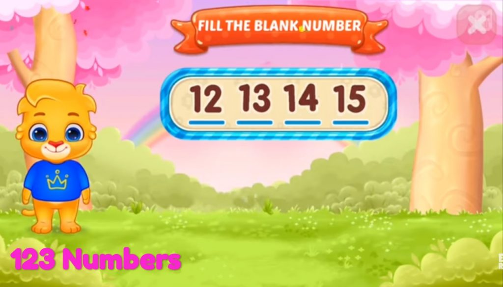 game 123 number