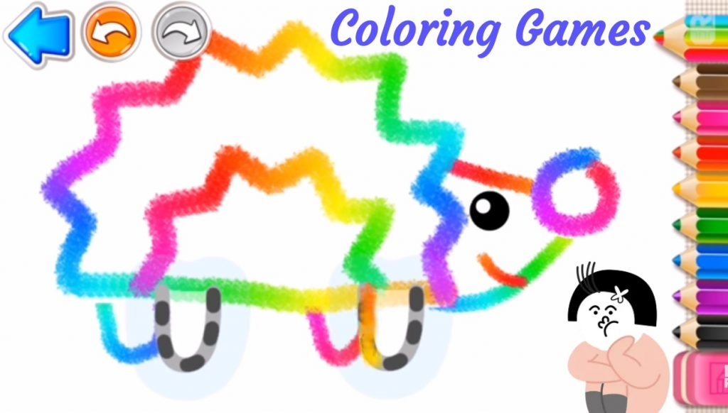 gambar coloring games