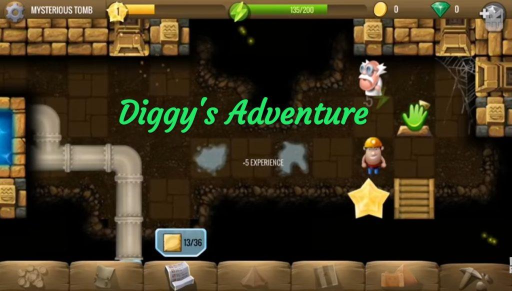 game diggy adventure