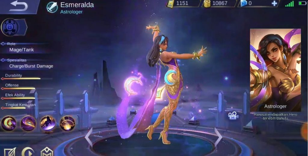 hero tersakit di mobile legends