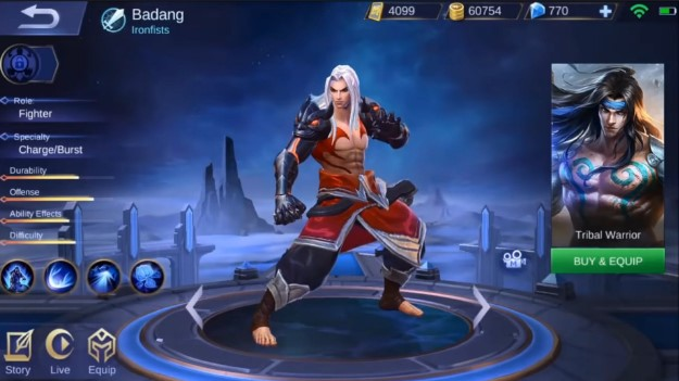 Badang hero fighter kuat