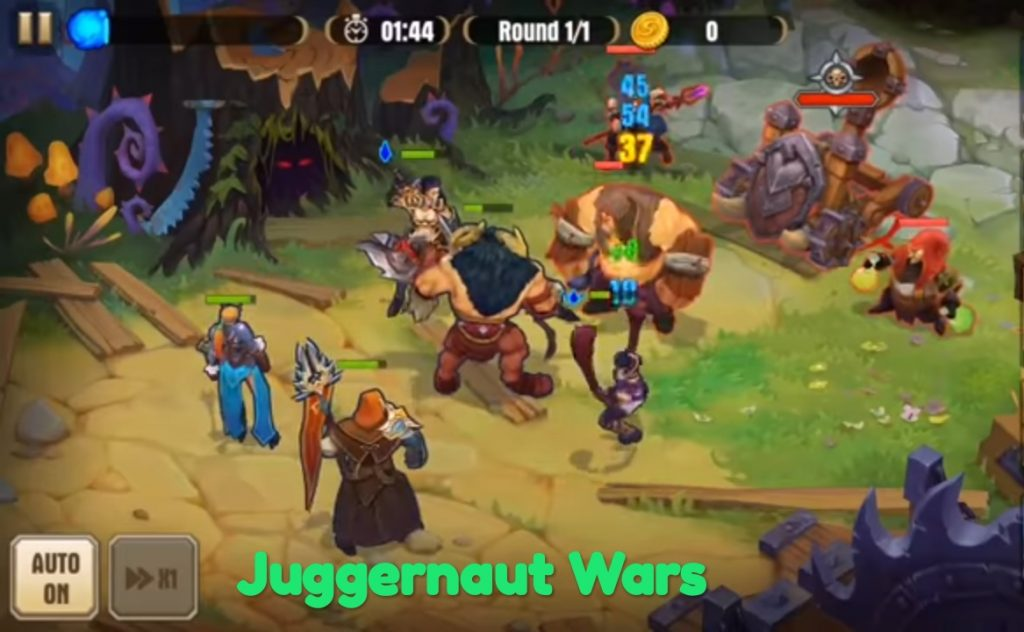 game android petualangan juggernaut wars