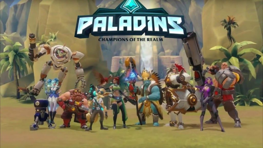 game pc online Paladins