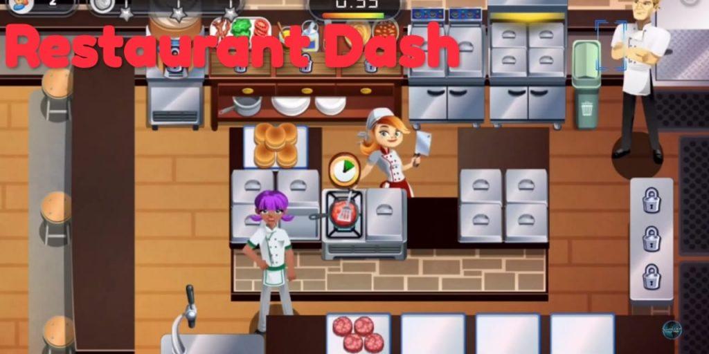 game restaurant dash
