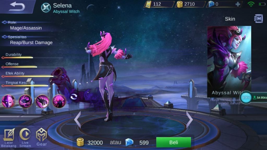 selena hero tersakit di early game