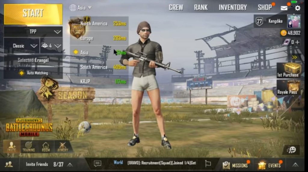 Game online PUBG di android