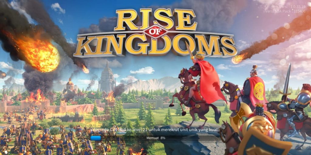 game android rise of kingdom