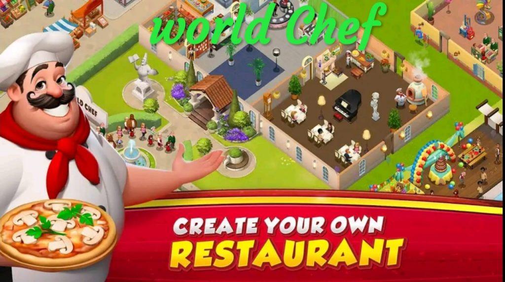 game memasak world chef