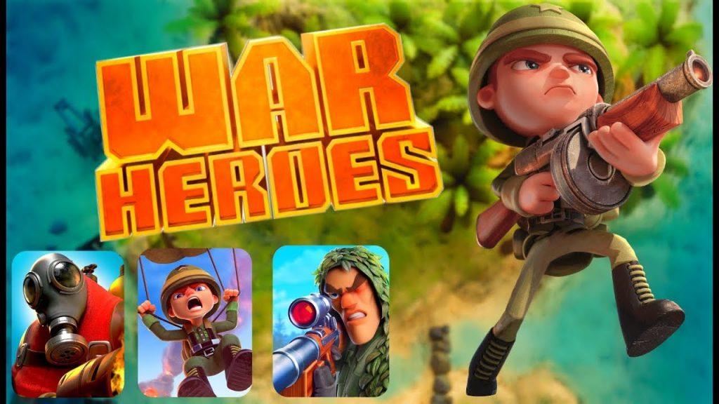 game android perang war heroes