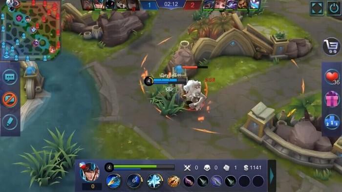 kesalahan bermain fighter pada mobile legends sering farming