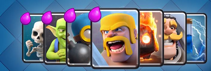request kartu clash royale