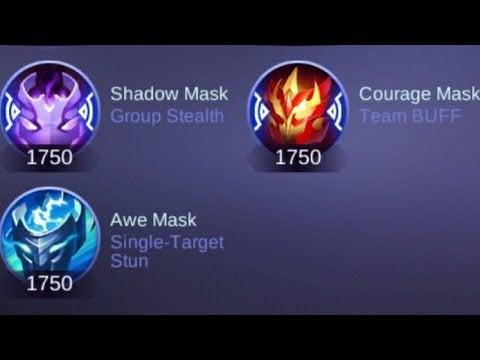 item roam awe mask
