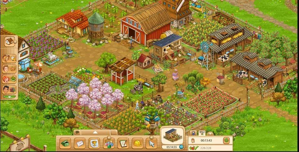 game simulasi big farm