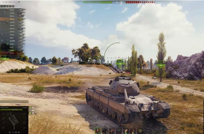 game online perang world of tank