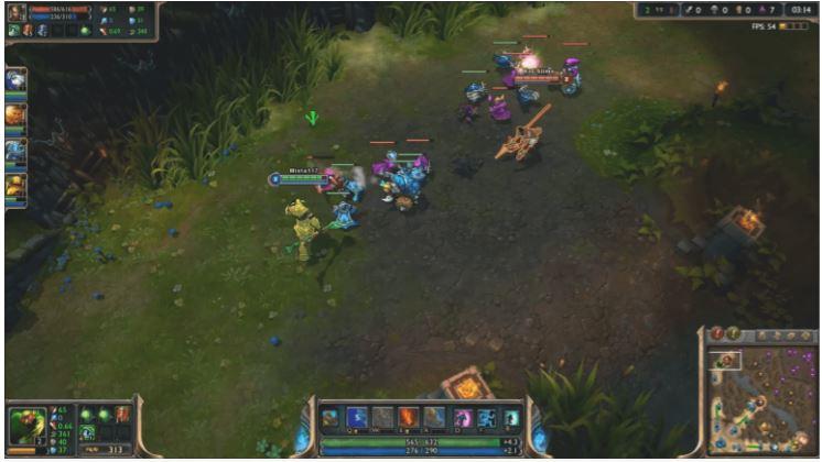 game online di pc league of legend