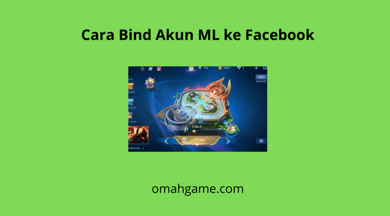 cara mengaitkan akun Mobile Legends ke Facebook