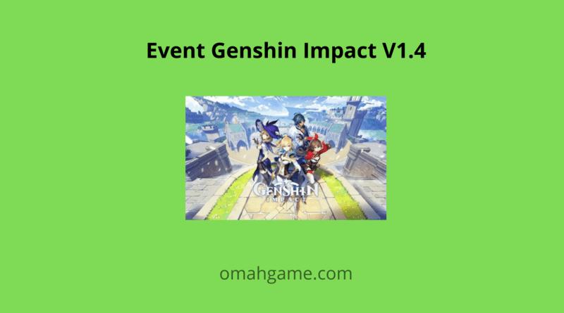 event Genshin Impact V1.4