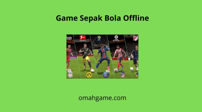 game sepak bola offline di android