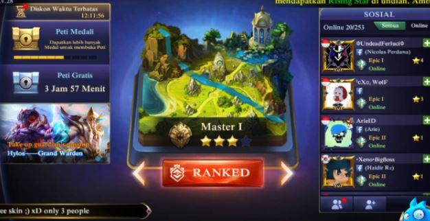 mode ranked mobile legends