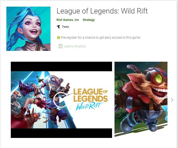 game MOBA terbaik League of Legends