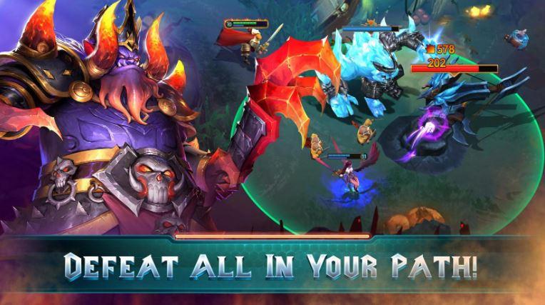 Moba Legends permainan Android