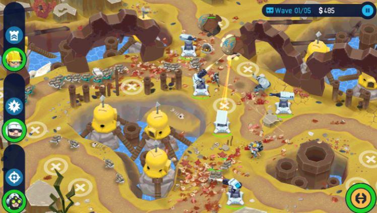 Game strategi perang menara
