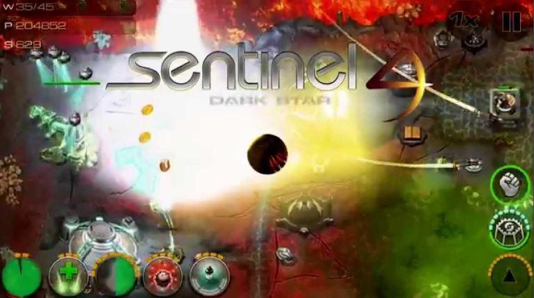 Game Tower Defense Sentinel Dark Star