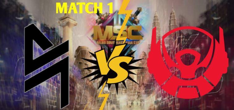 Hasil Kualifikasi MSC 2021 Fase Grup Day 1 Blacklist vs BTR