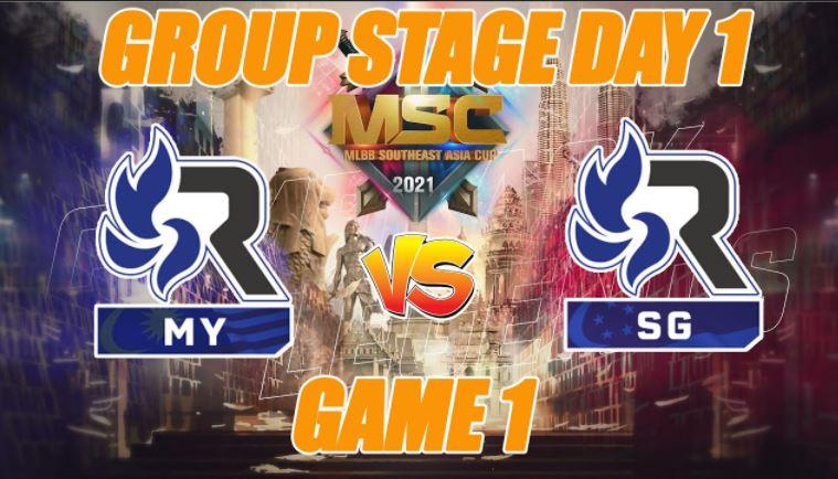 Hasil Kualifikasi MSC 2021 Fase Grup Day 1