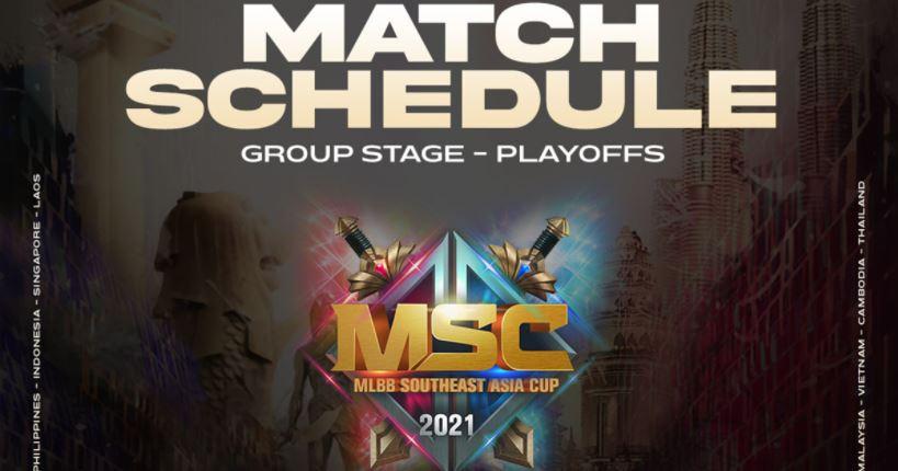 jadwal turnamen Mobile Legends Asia Tenggara