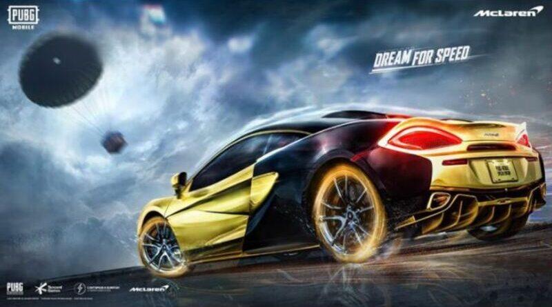 PUBG Mobile kolaborasi dengan McLaren