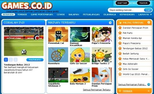 website game online games co id