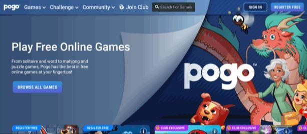 website game online POGO