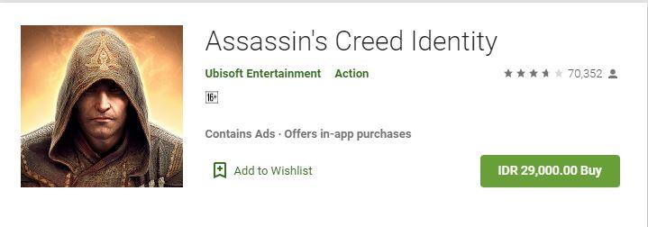 cara membeli game di Google Play Store
