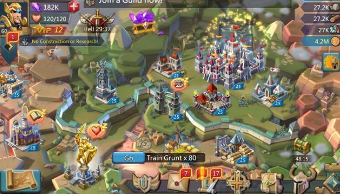 game membangun kerajaan Lord Mobile