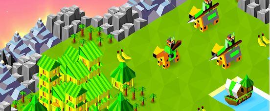 game kerajaan offline terbaik Batt;e of Polytopia