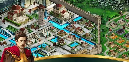 game membangun kerajaan android Rome Rising