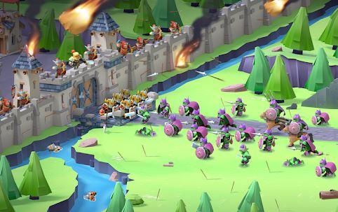 game membangun kerajaan offline game of warriors