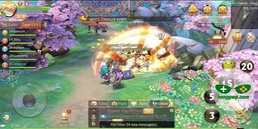 game mmorpg android 2020 Laplace M