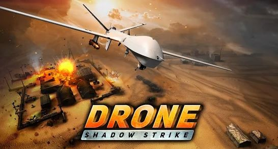 game perang offline ukuran kecil Drone Shadow Strike