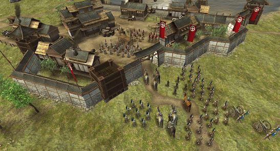 game perang offline ukuran kecil Shogun Empore Hex Commander