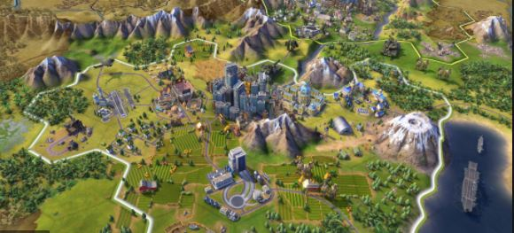 game strategi pc offline Civilization 6