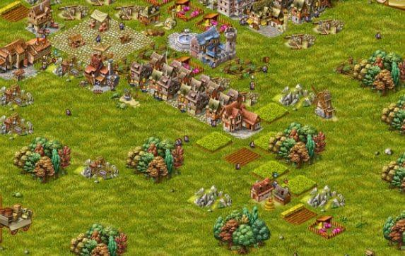game strategi perang kerajaan Townsmen