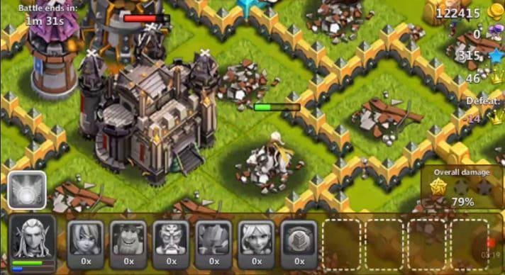 game strategi perang kerajaan War of Empire the Mist