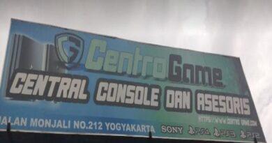 Centro Game Jogja toko game lengkap