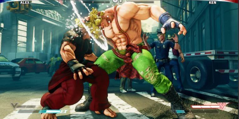 game pc multiplayer offline joystick street fighter V