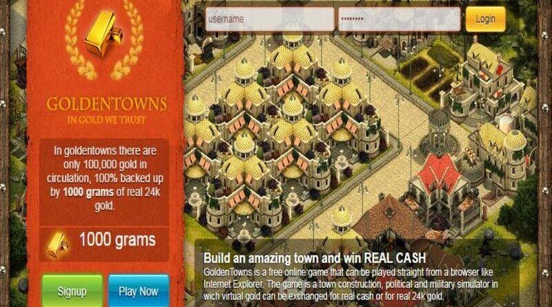 cara daftar golden town di android