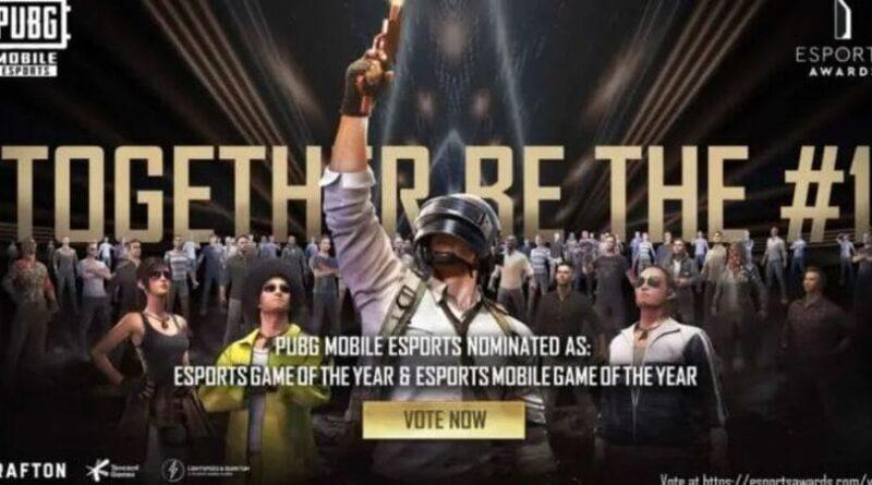 PUBG Mobile Masuk Nominasi The Esports Awards 2021
