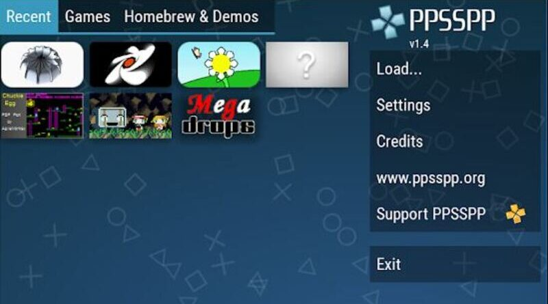 cara download game ppsspp android